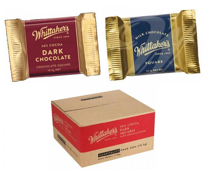 Whittaker's Creamy Milk Chocolate Squares Bulk