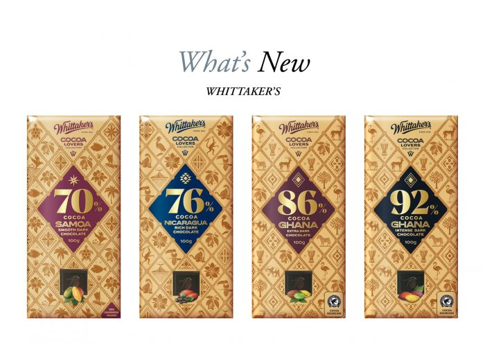 Whittaker's Cocoa Lovers