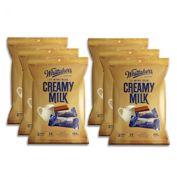 Whittaker's-Share-Pack-Mini-Slab-Creamy-Milk
