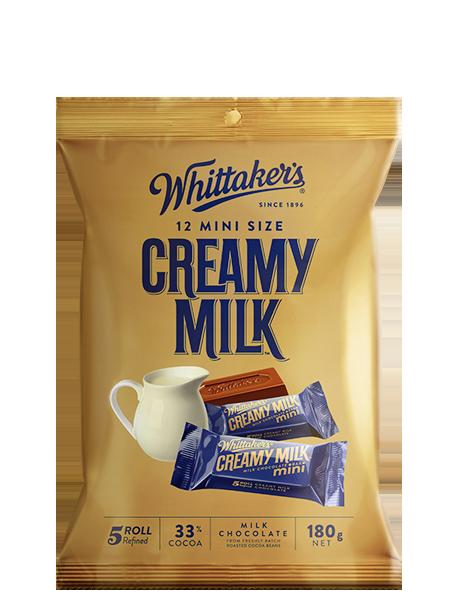 Whittaker's Mini Size Creamy Milk Chocolate Bars