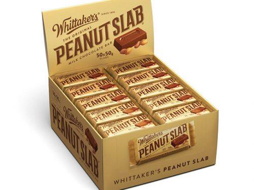Whittaker's Peanut Slab 50g x 50