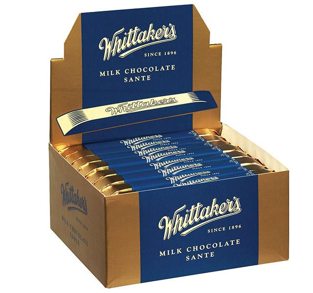 Whittakers Milk Chocolate Sante bar