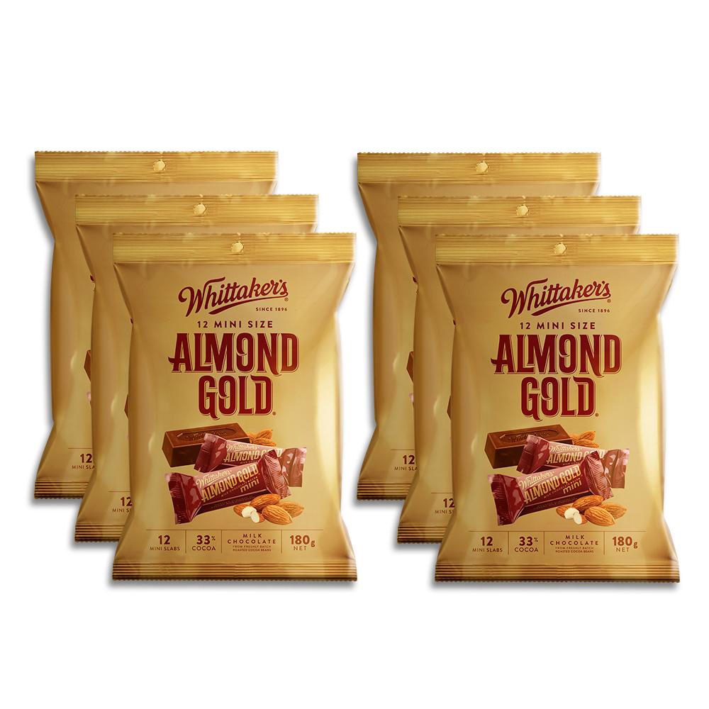 Whittaker's-Share-Pack-Mini-Slab-Almond-Gold