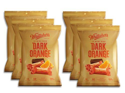 Whittaker's-Share-Pack-Mini-Slab-Dark-Orange