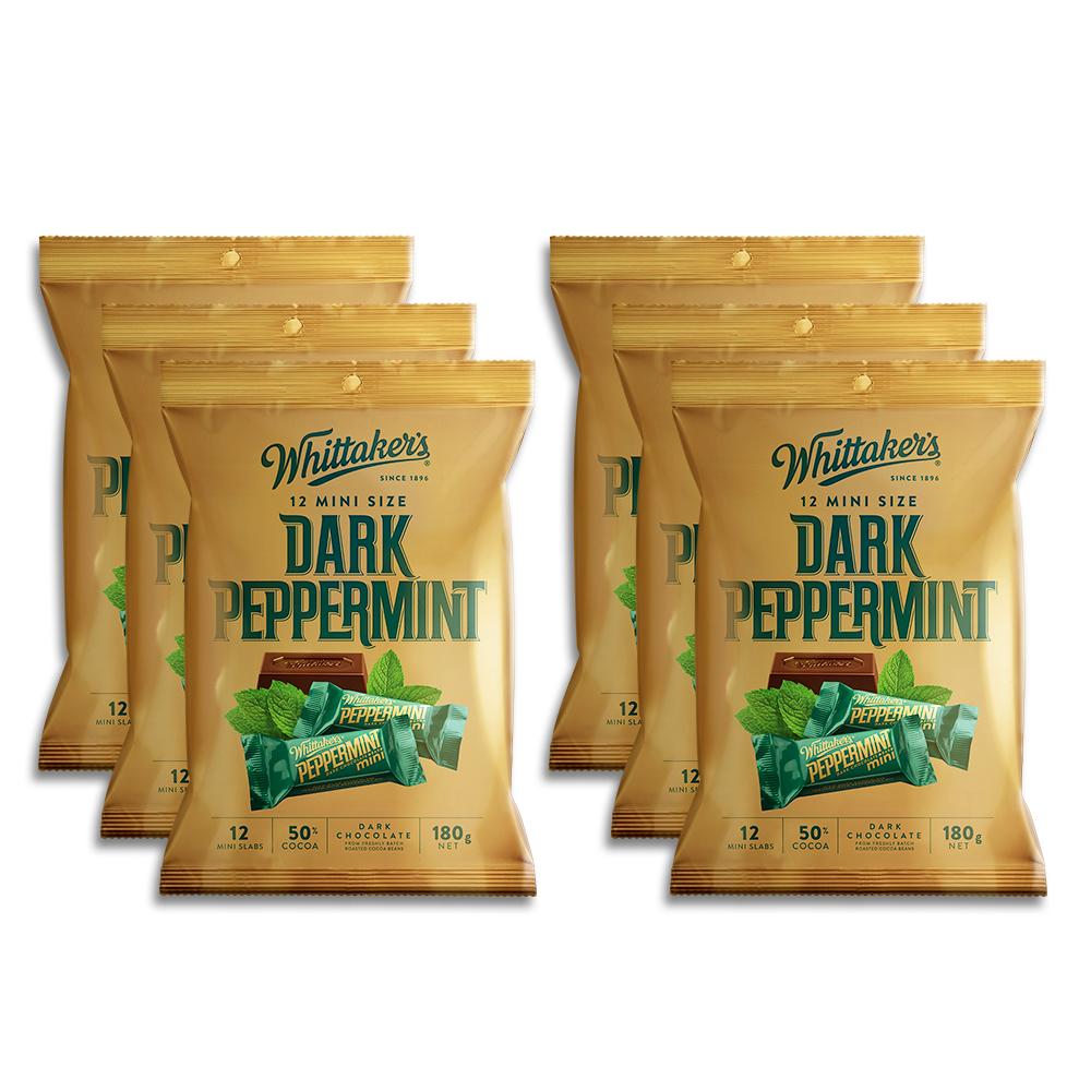 Whittaker's-Share-Pack-Mini-Slab-Dark-Peppermint