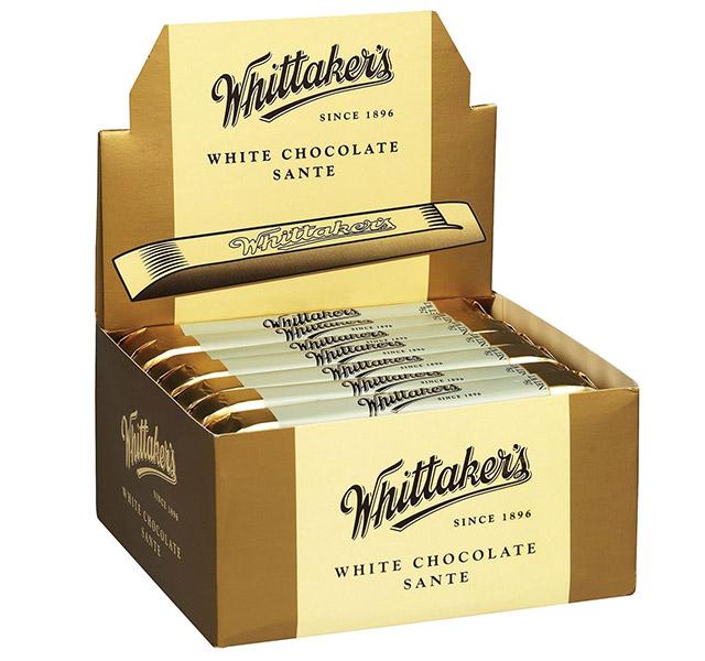 Whittakers White Sante bar
