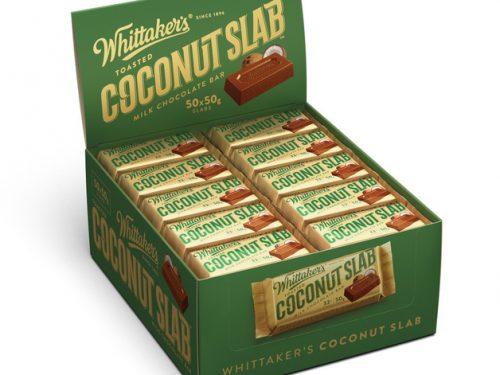 Whittaker's coconut slabs