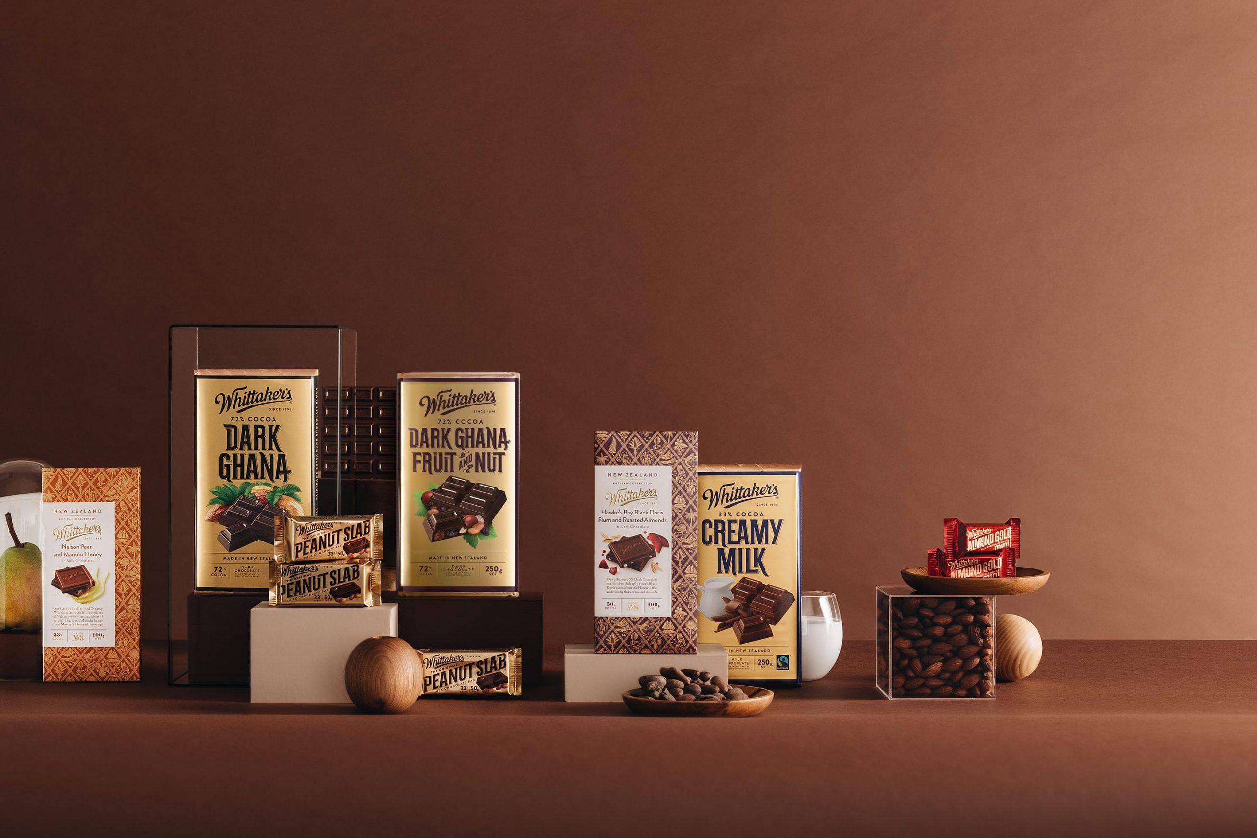Whittaker's Chocolate Lovers' corner