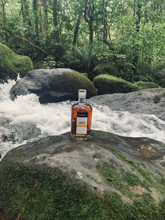 Middle Mount Ginseng Whiskey