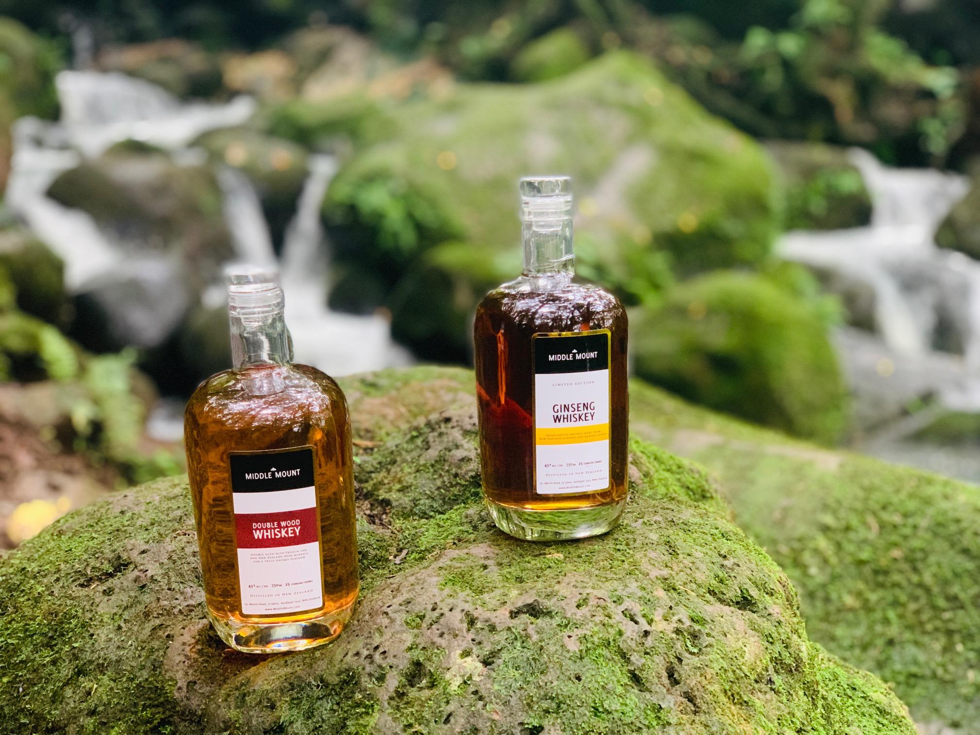 Middle Mount New Zealand Whiskey