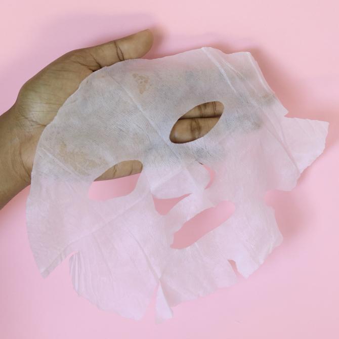 LANOCRÈME Lanolin Sheet Mask with Vitamin E