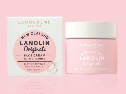 Lanocreme Lanolin Face Cream with Vitamin E
